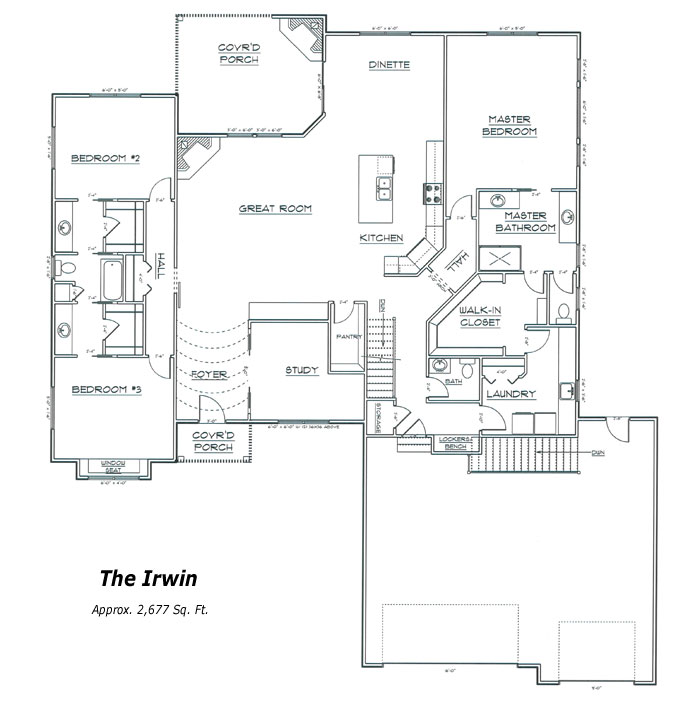 The Irwin Floor Plan