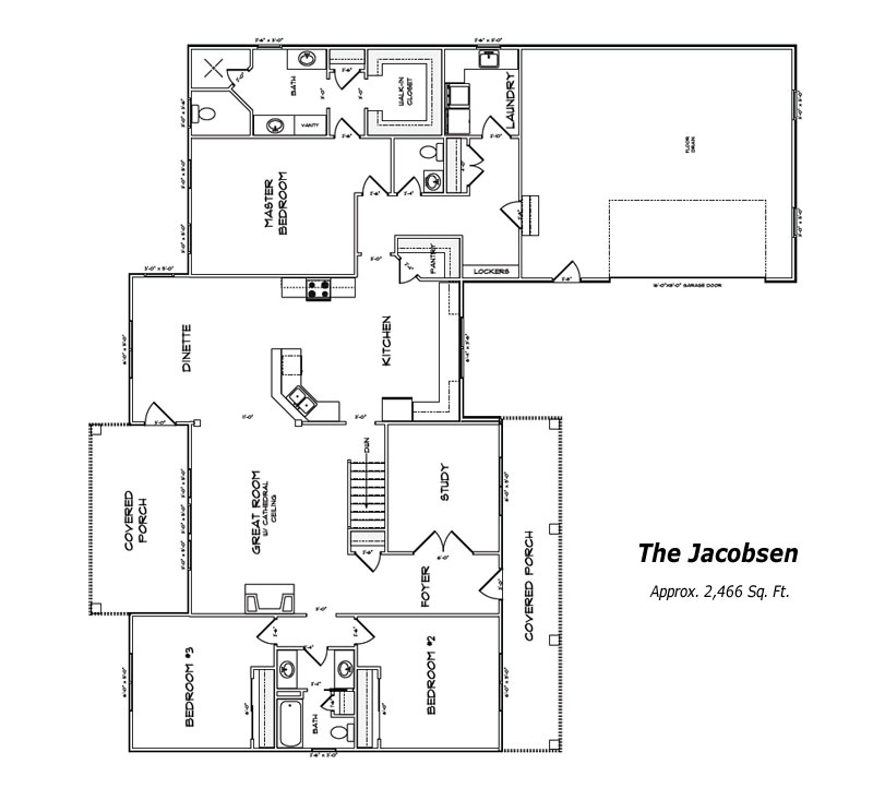 The Jacobsen Floor Plan