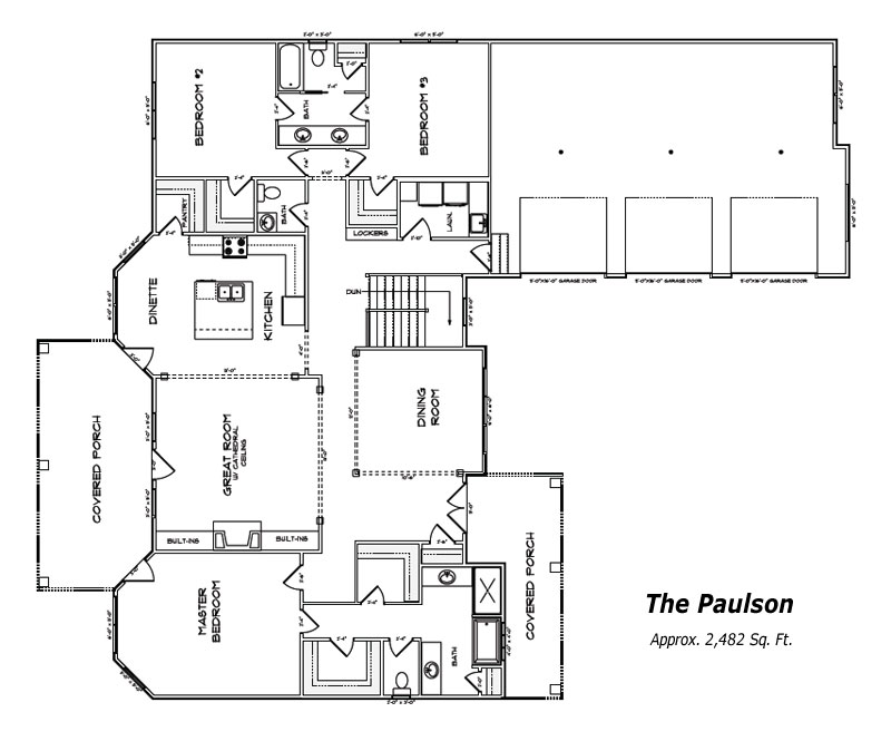 The Paulson Floor Plan