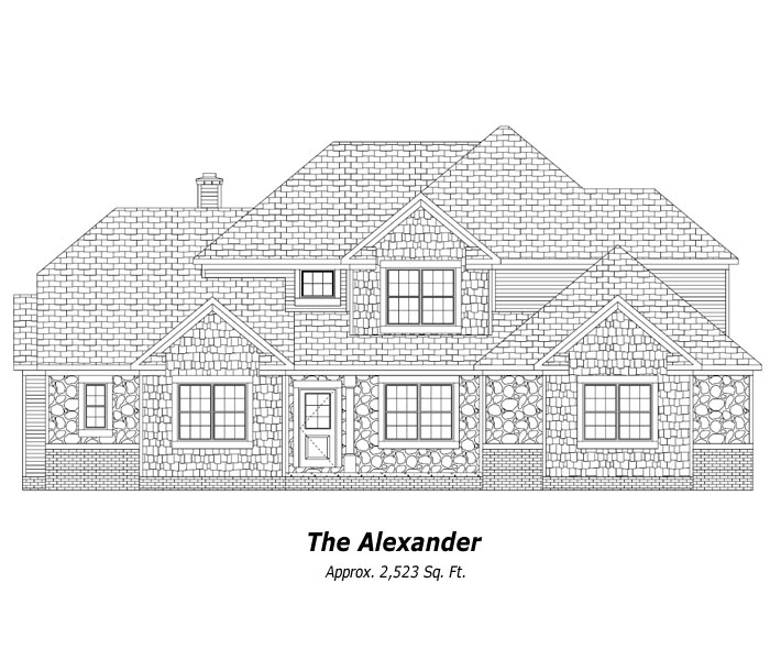 The Alexander Two-Story Home