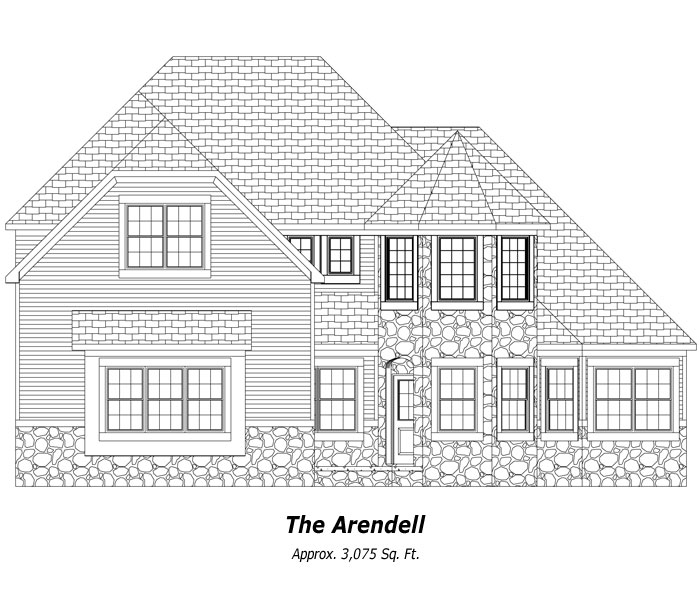 The Arendell Two-Story Home