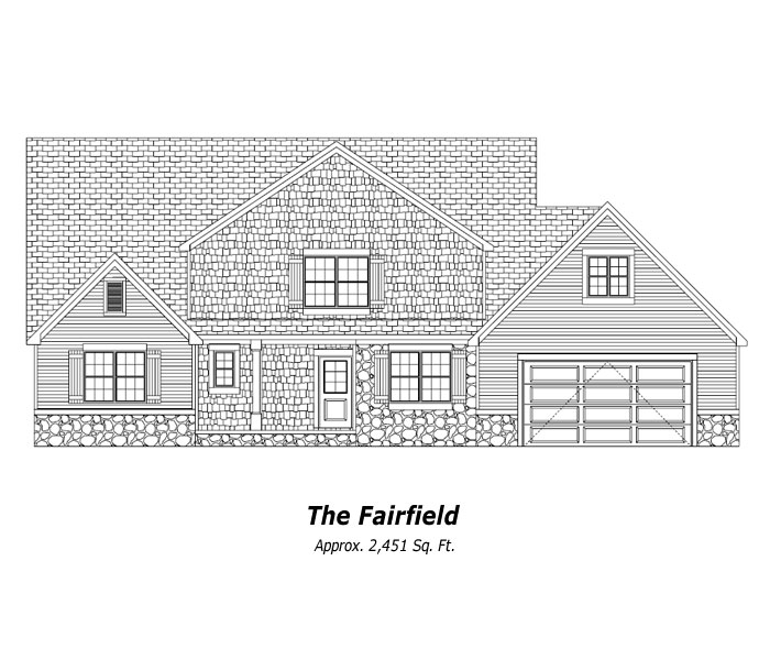 The Fairfield Two-Story Home