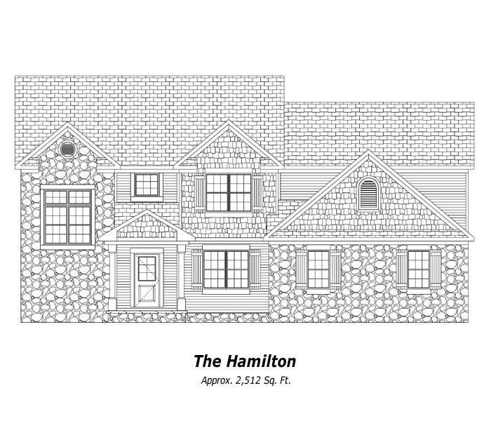 The Hamilton Two-Story Home