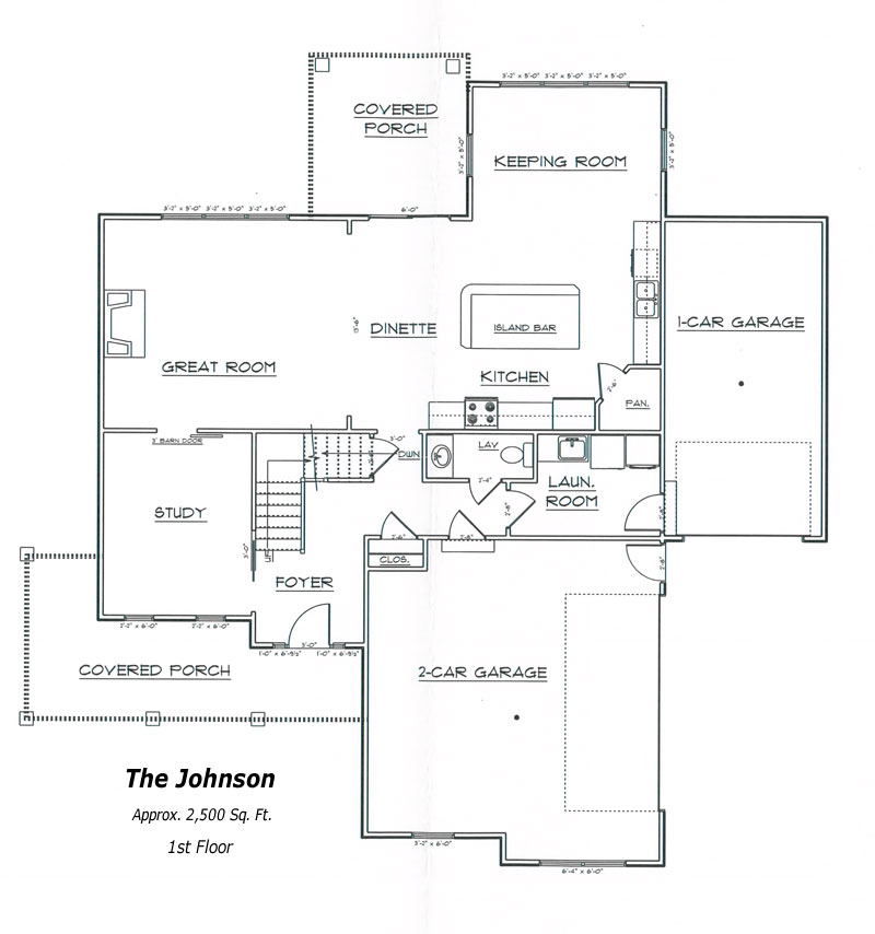 Johnson Floor Plan