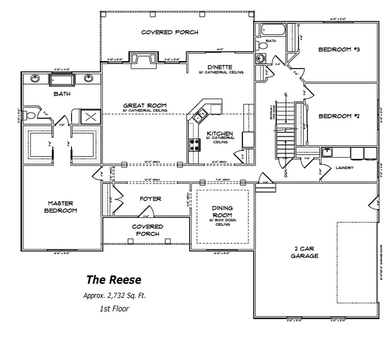 The Reese 1st Floor Plan