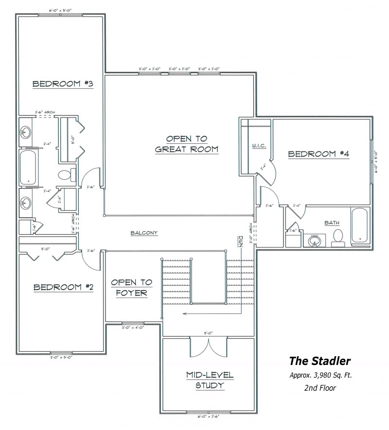 Stadler Floor Plan